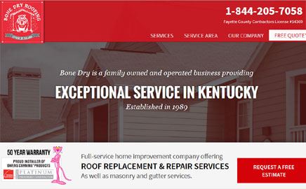 Bone Dry Roofing – Lexington